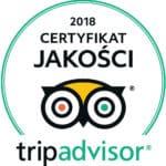 Certyfikat jakości Tripadvisor - Wrocławska
